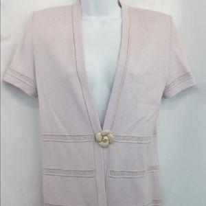 St. John knit blouse 4